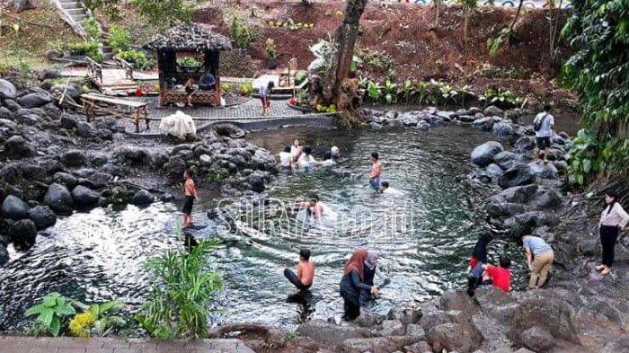 Wisata Sumber Mrutu Kecamatan Kedungjajang Kabupaten Lumajang, destinasi wisata baru yang Instagramable.