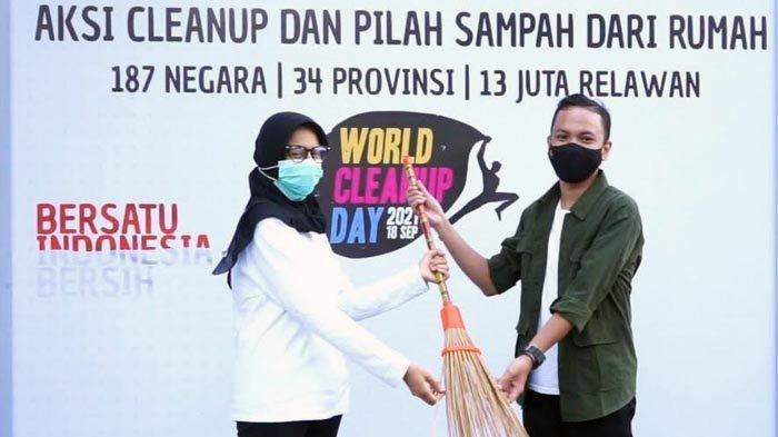 World Cleanup Day 2021 di Kota Kediri, Diharapkan Jadi Kebiasaan Peduli Lingkungan