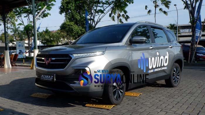 Wuling Almaz, Smart Technology SUV, Andalkan Fitur WIND. Dibandrol Rp. 268.800.000