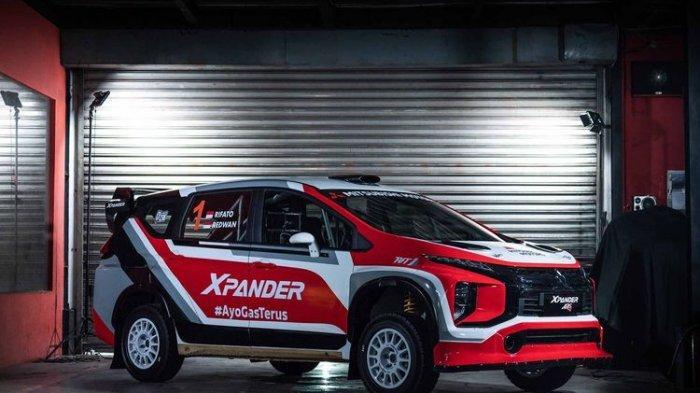 Ini Tampang Xpander Versi Rally,  Segera Ujicoba Kedua di Jalanan Aspal
