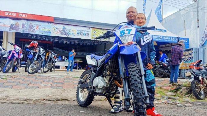Ngalas Bareng Yamaha WR 155 di Malang Diikuti Sepasang Lansia, 'Usia Tak Jadi Kendala'