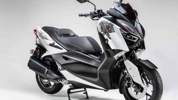 Ini Tampilan Yamaha XMax 300 Roma Edition, yang  Cuma Dijual 300 Unit