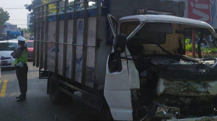 Dua Truk Terlibat Kecelakaan Lalu Lintas di Blimbing Kota Malang, Begini Nasib Pengemudinya
