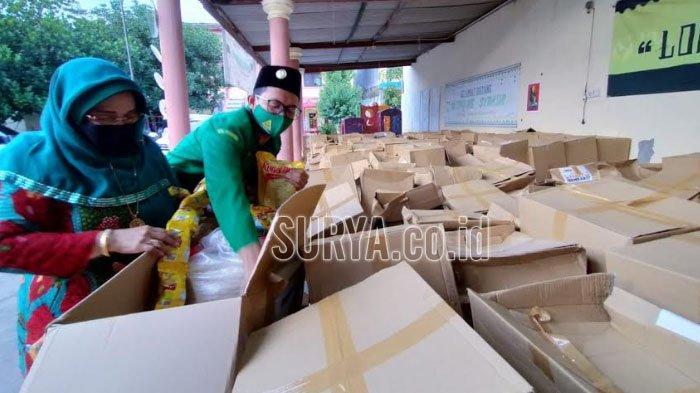 Yayasan Anisah Foundation Beri Bantuan Warga Terdampak Covid-19 di Pasuruan dan Probolinggo