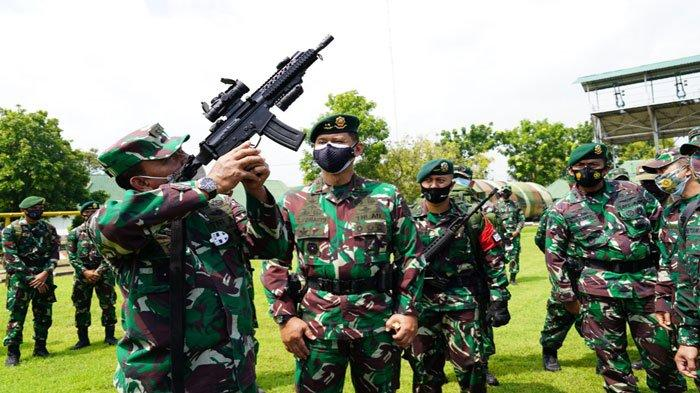 Yonif Para Raider 501 akan Dikirim untuk Libas KKB Papua, Asops Jenderal Andika Perkasa Cek Kesiapan