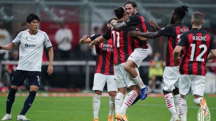 Hasil AC Milan vs Bologna: Skor Akhir 2-0, Dua Gol Ibra Bawa Kemenangan Perdana Rossoneri Musim Ini