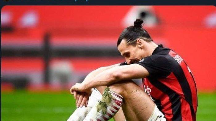 Kondisi Terkini Cedera Bomber AC Milan Zlatan Ibrahimovic Usai Turun Lawan Juventus