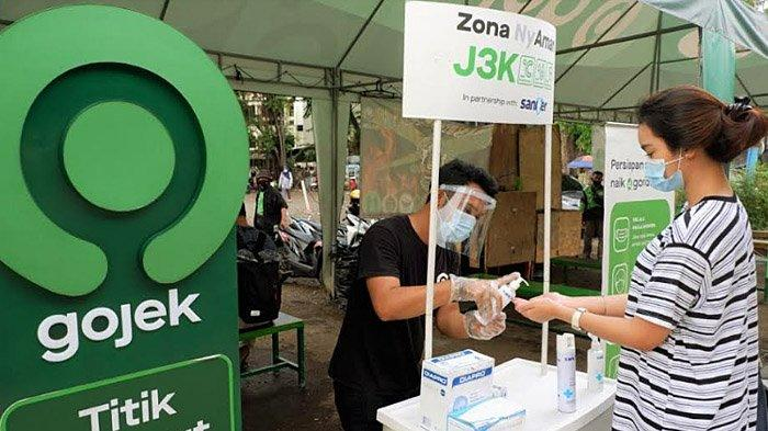 Pelanggan, Mitra Driver Apresiasi Kolaborasi Saniter dan Gojek untuk Wujudkan #Indonesiaterlindungi