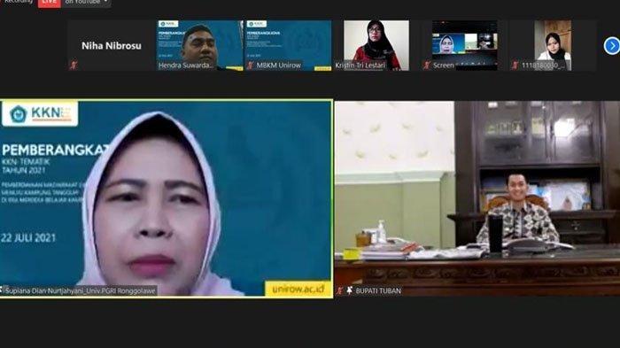 Rektor Unirow Ajak Mahasiswa Bantu Pencegahan Penyebaran Covid-19 Pada Momen KKN