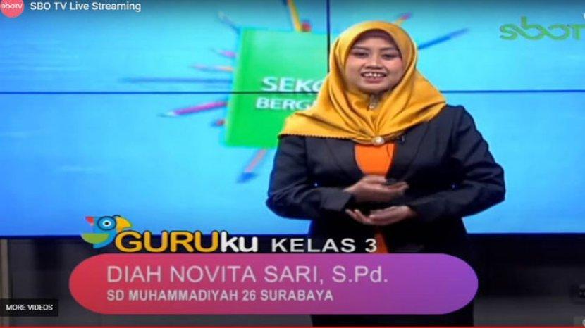Soal dan Jawaban SD Kelas 4 SBO TV 22 Oktober: Sebutkan 1 ...