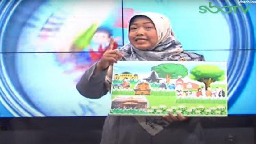 Soal Dan Jawaban Sbo Tv Sd Kelas 4 Senin 1 Februari 2021 Buatlah Seni Rupa Montase Kolase Mozaik Surya