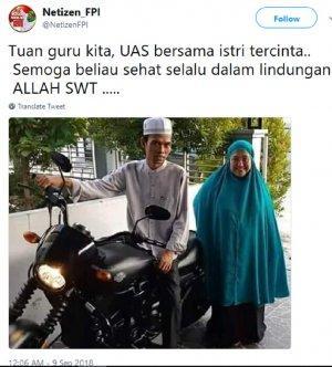 Penyebab Ustadz Abdul Somad atau UAS Ceraikan Istrinya dan ...