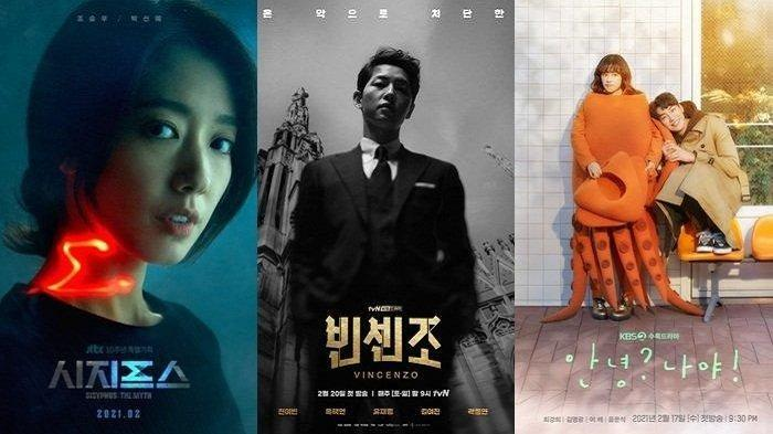 3 Drama Korea Terbaru Februari Tayang di Netflix Dibintangi Song Joong Cho Seung Woo & Park Shin Hye