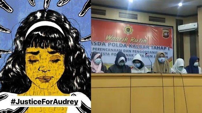 3 Pelaku Penganiayaan Audrey Jadi Tersangka, Sambil Menangis Ungkap 5 Pengakuan ini di Depan Polisi