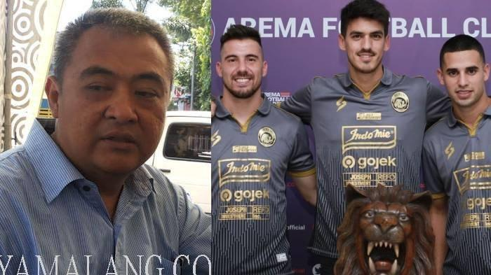 Pemain Asing Banyak Pindah ke Klub Asing Karena Liga 1 Indonesia Tak Jelas, Ini Reaksi GM Arema FC