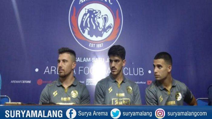 Arema FC Resmikan 3 Pemain Asing Baru : Jonathan Bauman, Elias Alderete dan Matias Daniel Malvino