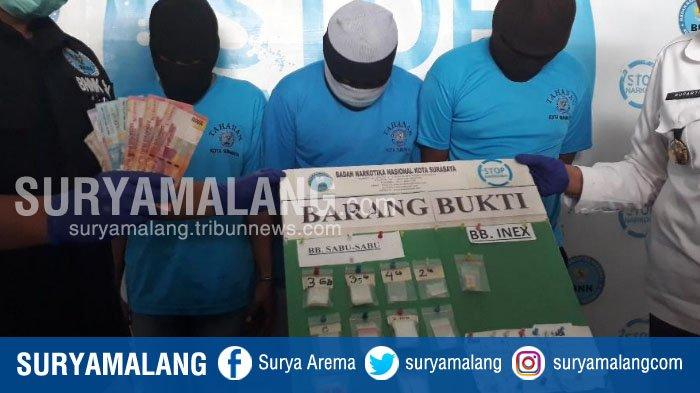 Ternyata 3 Orang Ini yang Edarkan Narkoba ke Juru Parkir dan Pengamen di Taman Bungkul, Surabaya