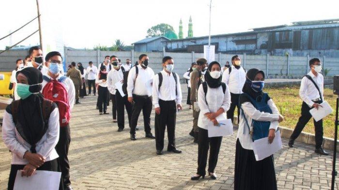 350 CASN Ikuti Tes Seleksi Kompetensi Dasar (SKD) di Gedung Islamic Center