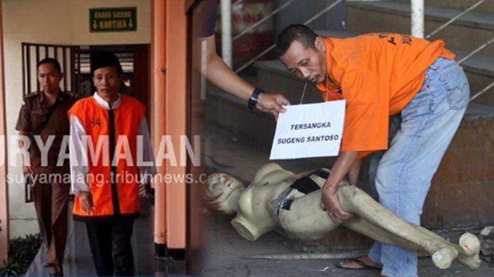 4 Fakta Persidangan Sugeng yang Bikin Hakim Kesal, Pelaku Mutilasi Pasar Besar Malang Tak Gentar