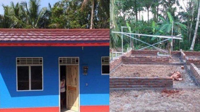 4 Proses Pembangunan Rumah Viral Rp 15 Juta di Ciamis yang Bikin Penasaran, Ini Daftar Materialnya
