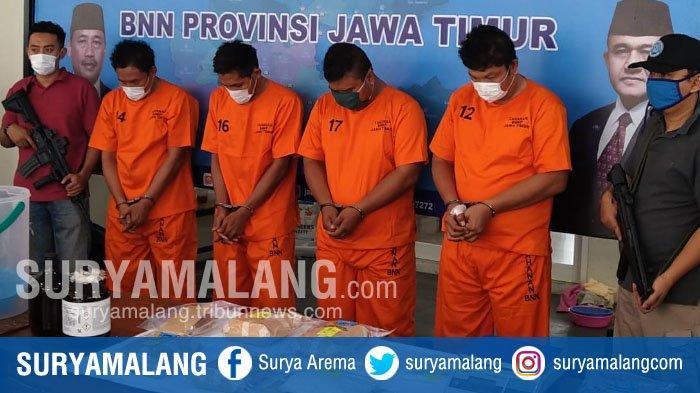 BREAKING NEWS - Kiper Liga 2, Mantan Pemain dan Pengurus PSSI Terlibat Peredaran Narkoba di Jatim