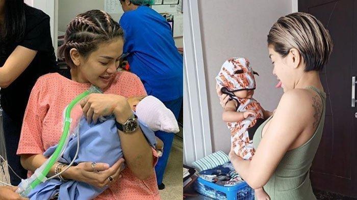 5 Foto Bayi Nikita Mirzani, Wajah Arkana Mawardi Tak Lagi Disensor, Anak Dipo Latief Mirip Bapaknya?