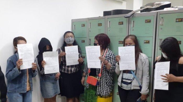 6 Wanita Penghibur Terjaring Razia di Jalan Pajajaran dan Jalan Sultan Agung, Kota Malang