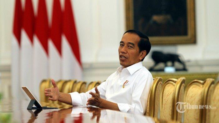 Potret Presiden Jokowi