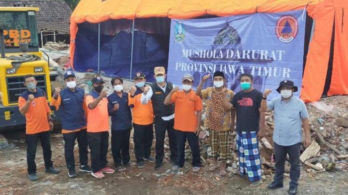 77 Rumah Ibadah Rusak Terdampak Gempa di Malang, Ini yang Dilakukan Gubernur Khofifah