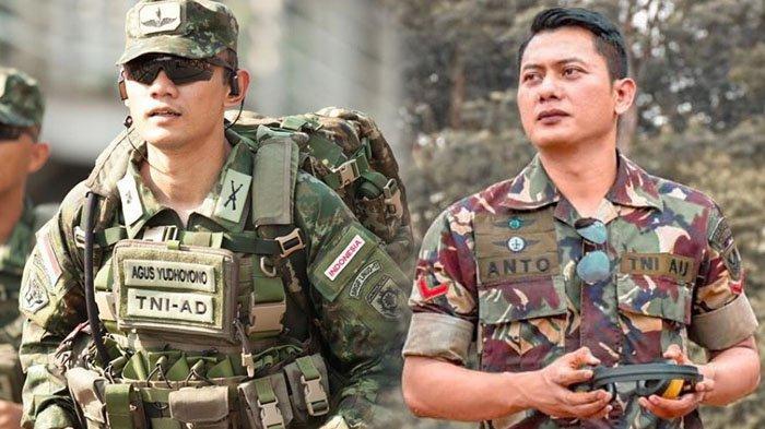 8 Foto Anto Cepi, Sosok 'Kembaran' Agus Harimurti Yudhoyono, Anggota TNI AU yang Curi Perhatian