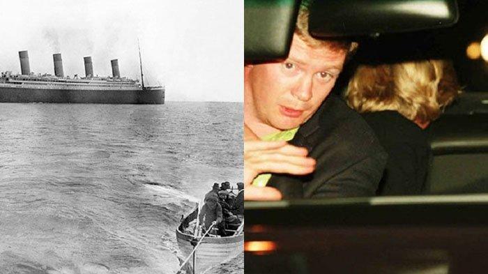 8 Foto yang Berhasil Diabadikan Sebelum Ajal Menjemput, Dari Mobil Putri Diana Hingga Kapal Titanic