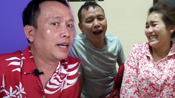 Abdul Rozak (kiri), Ayah Ayu Ting Ting kanan terkenal dengan gaya bicaranya yang kocak