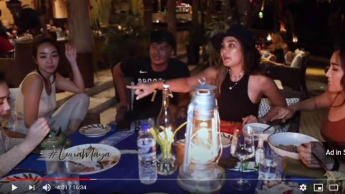 Acara makan bersama, Wijin, Gisel, Luna Maya, Ayu Dewi, Nagita Slavina dan Raffi Ahmad