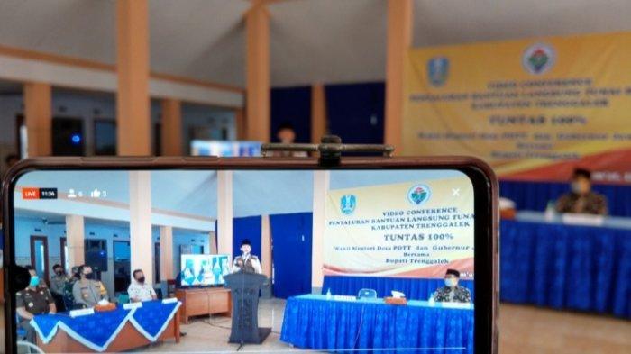 Pemkab Percepat Pencairan Dana Desa di Trenggalek, 112 Desa Sudah Terima Tahap Pertama