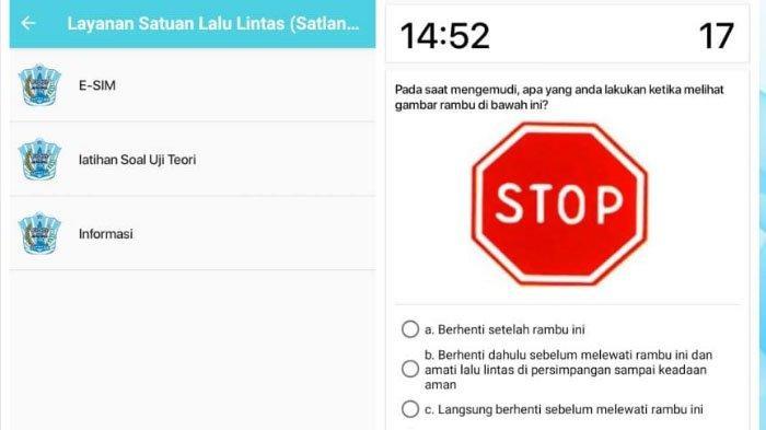 Fitur Baru Aplikasi Jogo Malang, Ada Latihan Soal Ujian Teori SIM