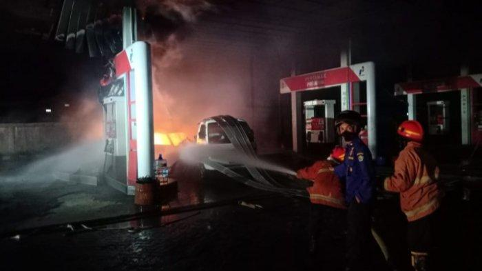 Kejanggalan Sebelum Kebakaran SPBU Buring Kota Malang, Ada Drum Kosong di Dalam Angkot