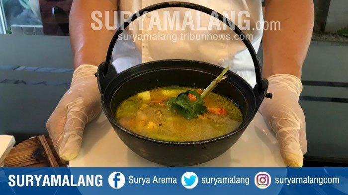 Menu Spesial di Quest Hotel Surabaya, Sop Ayam Kampung Temulawak Cocok untuk Perkuat Sistem Imun