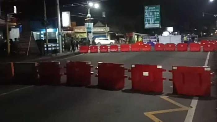 Jalan S Supriadi, Kota Malang Ditutup Mulai Pukul 22.00 WIB sampai 02.30 WIB