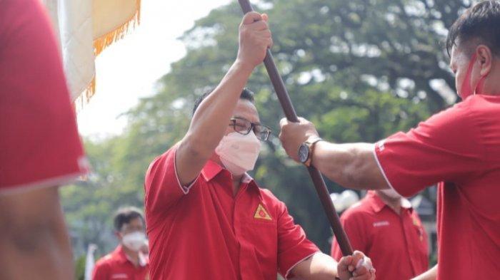 Adang Daradjatun Lantik Sutiaji Jadi Ketua PDDI Cabang Kota Malang Periode 2021-2026