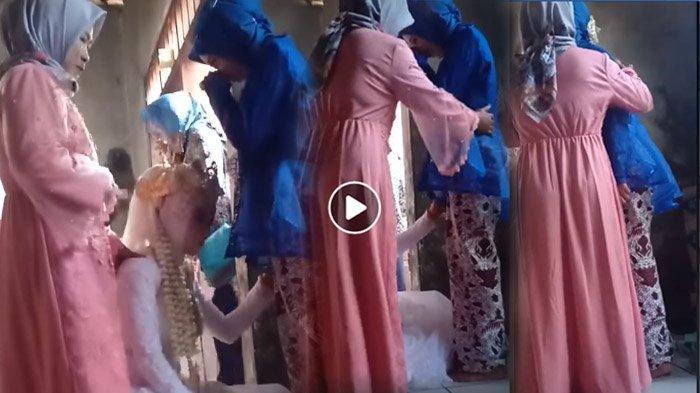 Adik Kandung Nikahi Mantan Pacar Sang Kakak, Videonya Waktu Minta Restu Viral, Cuma Bisa Menangis