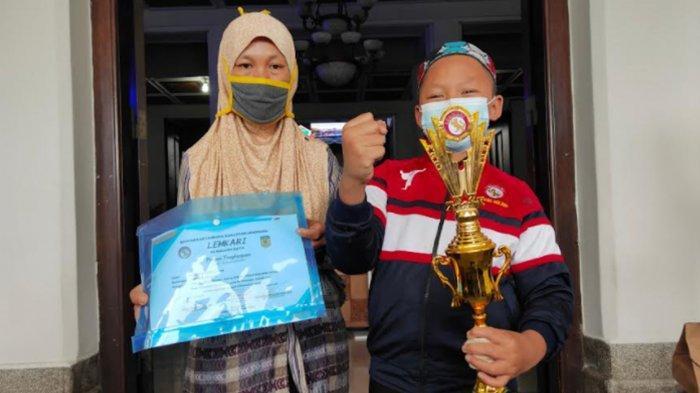 Juara Karate Aditya Saiful Anam Sumringah saat Diundang Wali Kota Malang Sutiaji ke Balaikota