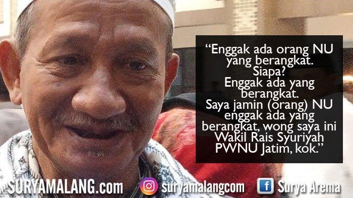 Gus Ali: Saya Jamin Tidak Ada Warga NU ke Jakarta, Saya ini Wakil Rais Syuriyah PWNU Jatim