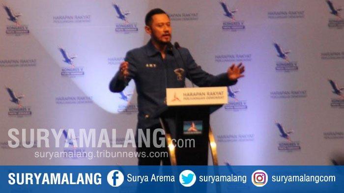 Sambutan AHY Usai Resmi Jadi Ketua Umum Demokrat, Singgung Kejayaan Partai & Parliamentary Threshold