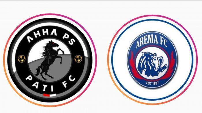 Logo klub PSG Pati atau AHHA PS Pati FC  dan Arema FC