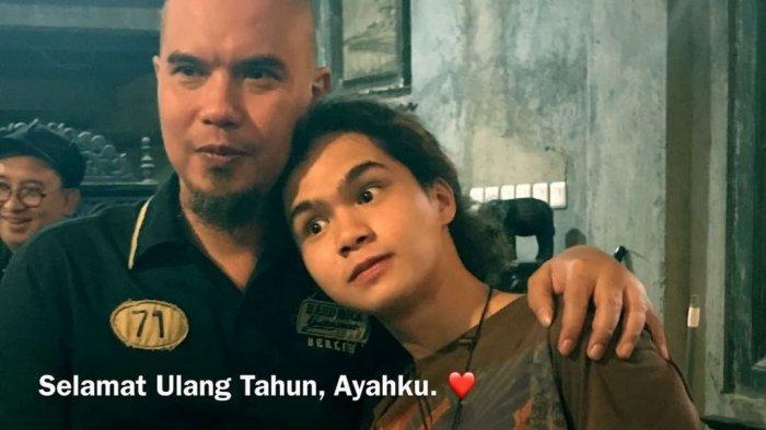 Bukan Mulan Apalagi Maia, Muncul Seseorang di Video Ulangtahun Ahmad Dhani Bikin 'Salfok'