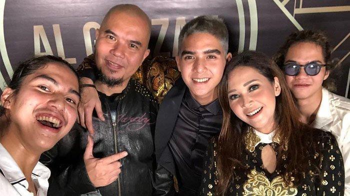 Al dan Dul Kirim WA dari London Pasca Kabar Ahmad Dhani Lolos DPR RI, Mulan Jameela Nggak Mikirin