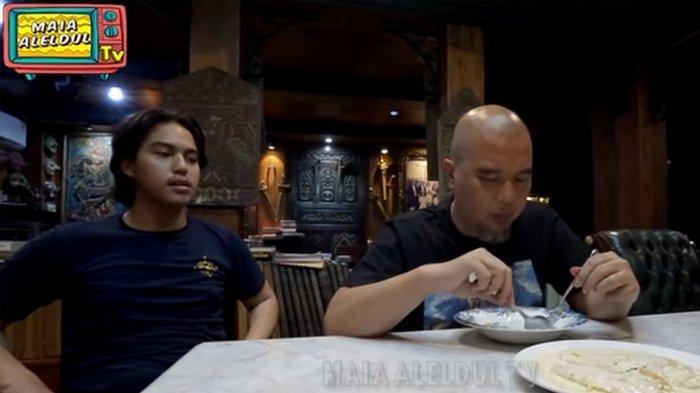 Ahmad Dhani tak tahu saat mencicipi masakan Maia Estianty