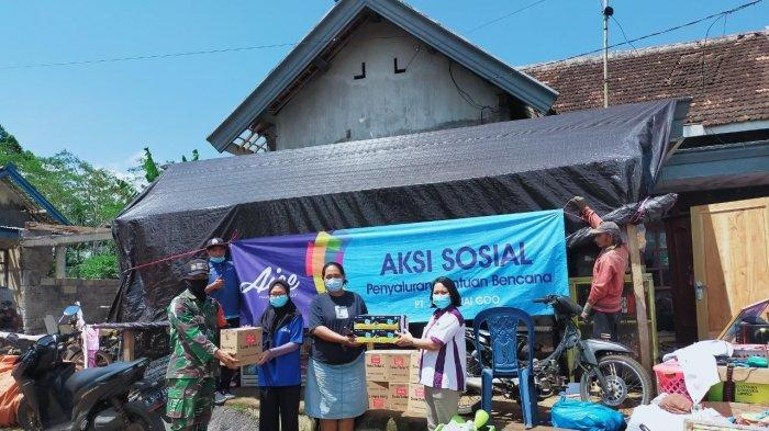 Aice Group Bantu Pemulihan Gempa di Kabupaten Malang dengan Mengirim Bahan Pokok Makanan