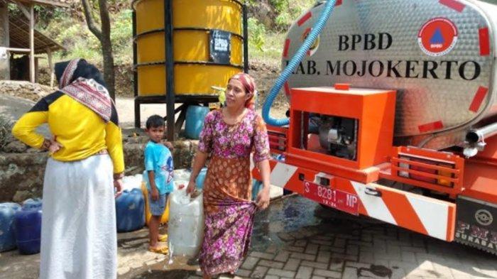 Krisis Air Bersih Akibat Kemarau Mulai Ancam Daerah Trawas Kabupaten Mojokerto