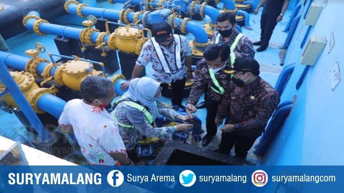 Dugaan Sabotase PDAM Kota Kasus Air Bau Solar Malang Mulai Diselidiki Polres Malang, Sudah Cek TKP